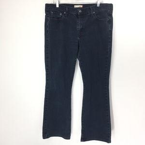 Levi's Jeans - Levis 14S Jeans 515 Bootcut Dark Wash Indigo Denim